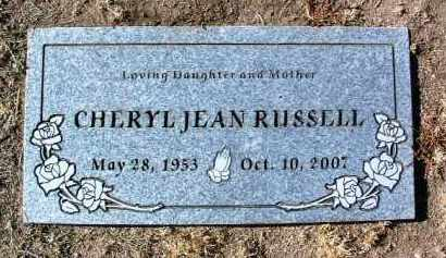 RUSSELL, CHERYL JEAN - Yavapai County, Arizona   CHERYL JEAN RUSSELL - Arizona Gravestone Photos