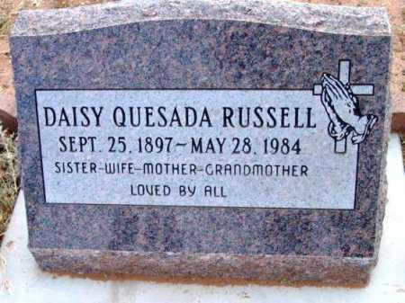RUSSELL, DAISY - Yavapai County, Arizona | DAISY RUSSELL - Arizona Gravestone Photos