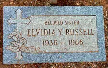 RUSSELL, ELVIDIA Y. - Yavapai County, Arizona | ELVIDIA Y. RUSSELL - Arizona Gravestone Photos