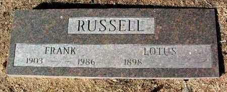 RUSSELL, LOTUS C. - Yavapai County, Arizona | LOTUS C. RUSSELL - Arizona Gravestone Photos