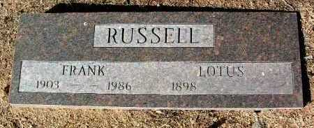 RUSSELL, LOTUS C. - Yavapai County, Arizona | LOTUS C. RUSSELL - Arizona Gravestone Photos