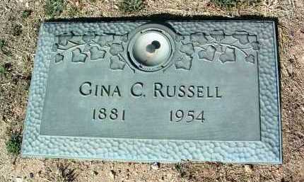 RUSSELL, GINA C. - Yavapai County, Arizona | GINA C. RUSSELL - Arizona Gravestone Photos