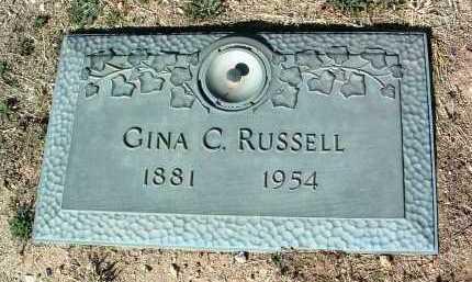 RUSSELL, GINA C. - Yavapai County, Arizona | GINA C. RUSSELL - Arizona Gravestone Photos