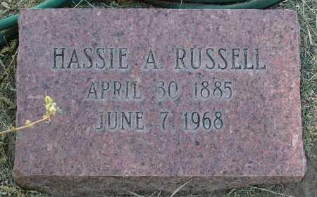 RUSSELL, HASSIE R. - Yavapai County, Arizona   HASSIE R. RUSSELL - Arizona Gravestone Photos