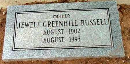 RUSSELL, JEWELL DORIS - Yavapai County, Arizona | JEWELL DORIS RUSSELL - Arizona Gravestone Photos