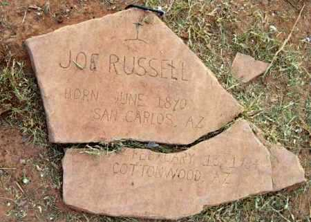 RUSSELL, JOE - Yavapai County, Arizona | JOE RUSSELL - Arizona Gravestone Photos