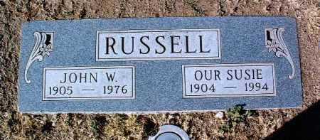 RUSSELL, JOHN W. - Yavapai County, Arizona   JOHN W. RUSSELL - Arizona Gravestone Photos