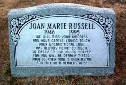 RUSSELL, JOAN MARIE - Yavapai County, Arizona | JOAN MARIE RUSSELL - Arizona Gravestone Photos
