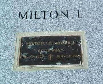 RUSSELL, MILTON  LEE - Yavapai County, Arizona | MILTON  LEE RUSSELL - Arizona Gravestone Photos