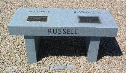 RUSSELL, MILTON LEE - Yavapai County, Arizona | MILTON LEE RUSSELL - Arizona Gravestone Photos