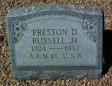 RUSSELL, PRESTON DOTY, JR. - Yavapai County, Arizona | PRESTON DOTY, JR. RUSSELL - Arizona Gravestone Photos
