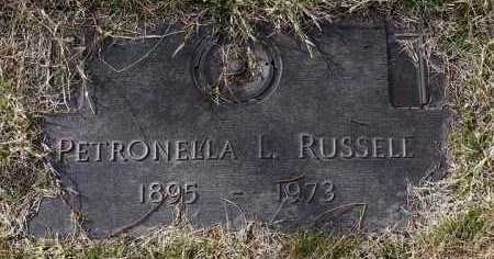 RUSSELL, PETRONELLA L. - Yavapai County, Arizona | PETRONELLA L. RUSSELL - Arizona Gravestone Photos
