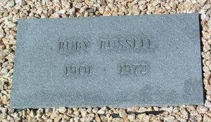 RUSSELL, RUBY - Yavapai County, Arizona | RUBY RUSSELL - Arizona Gravestone Photos