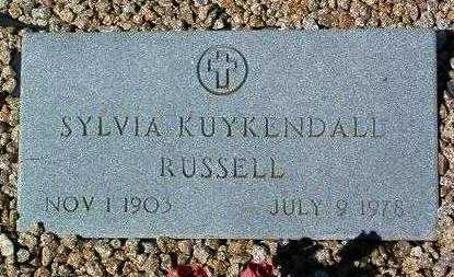 COMBS RUSSELL, SYLVIA M. - Yavapai County, Arizona | SYLVIA M. COMBS RUSSELL - Arizona Gravestone Photos