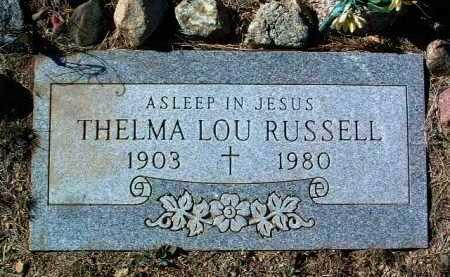 SKELTON RUSSELL, T. L. - Yavapai County, Arizona | T. L. SKELTON RUSSELL - Arizona Gravestone Photos