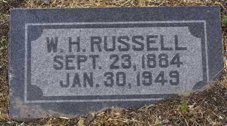 RUSSELL, W. H. - Yavapai County, Arizona | W. H. RUSSELL - Arizona Gravestone Photos