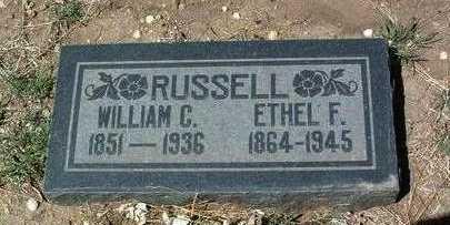 RUSSELL, WILLIAM CARSON - Yavapai County, Arizona | WILLIAM CARSON RUSSELL - Arizona Gravestone Photos