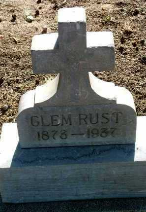 RUST, CLEMENS C. (CLEM) - Yavapai County, Arizona | CLEMENS C. (CLEM) RUST - Arizona Gravestone Photos