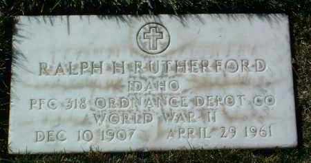 RUTHERFORD, RALPH H. - Yavapai County, Arizona | RALPH H. RUTHERFORD - Arizona Gravestone Photos
