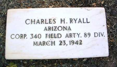 RYALL, CHARLES HENRY, JR. - Yavapai County, Arizona | CHARLES HENRY, JR. RYALL - Arizona Gravestone Photos
