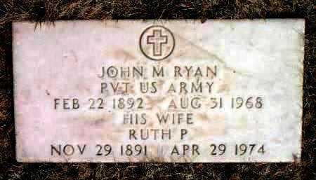 RYAN, RUTH P. - Yavapai County, Arizona | RUTH P. RYAN - Arizona Gravestone Photos
