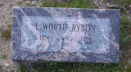 RYBON, LEWIS WORTHAN - Yavapai County, Arizona   LEWIS WORTHAN RYBON - Arizona Gravestone Photos