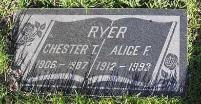MCCABE RYER, ALICE FRANCES - Yavapai County, Arizona   ALICE FRANCES MCCABE RYER - Arizona Gravestone Photos