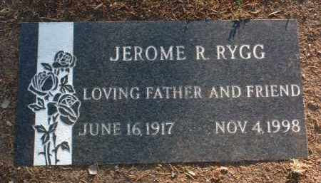 RYGG, JEROME R. (DR.) - Yavapai County, Arizona | JEROME R. (DR.) RYGG - Arizona Gravestone Photos
