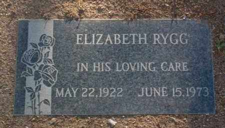 SHAW RYGG, MARGARET ELIZ. - Yavapai County, Arizona | MARGARET ELIZ. SHAW RYGG - Arizona Gravestone Photos