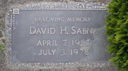 SAENZ, DAVID H - Yavapai County, Arizona | DAVID H SAENZ - Arizona Gravestone Photos
