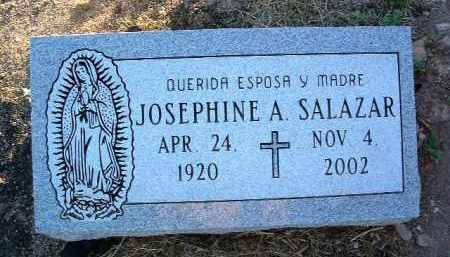 SALAZAR, JOSEPHINE A. - Yavapai County, Arizona | JOSEPHINE A. SALAZAR - Arizona Gravestone Photos