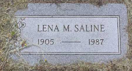 SALINE, LENA M. - Yavapai County, Arizona | LENA M. SALINE - Arizona Gravestone Photos