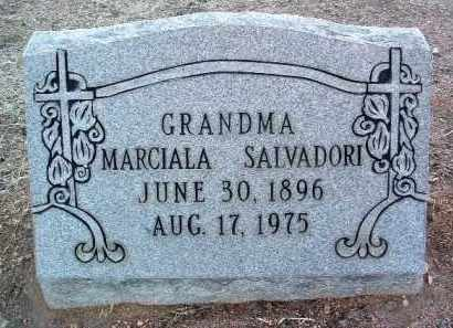 SALVADORI, MARCIALA - Yavapai County, Arizona | MARCIALA SALVADORI - Arizona Gravestone Photos