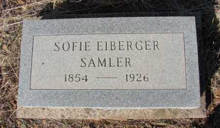 EIBERGER SAMLAR, SOFIE - Yavapai County, Arizona | SOFIE EIBERGER SAMLAR - Arizona Gravestone Photos