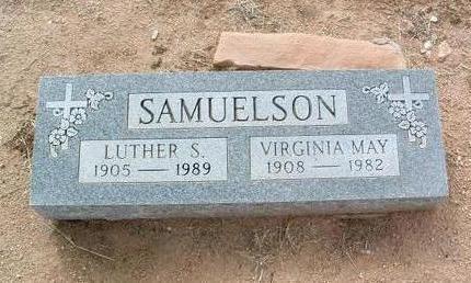 HATCH SAMUELSON, VIRGINIA - Yavapai County, Arizona | VIRGINIA HATCH SAMUELSON - Arizona Gravestone Photos