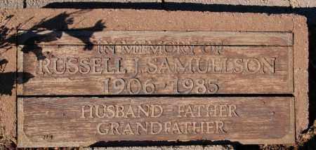 SAMUELSON, RUSSELL JENNINGS - Yavapai County, Arizona | RUSSELL JENNINGS SAMUELSON - Arizona Gravestone Photos