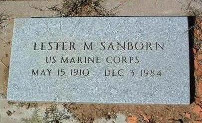 SANBORN, LESTER  M. - Yavapai County, Arizona | LESTER  M. SANBORN - Arizona Gravestone Photos