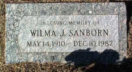 WELLS SANBORN, WILMA J. - Yavapai County, Arizona | WILMA J. WELLS SANBORN - Arizona Gravestone Photos