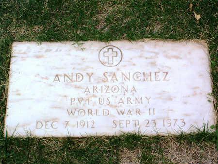 SANCHEZ, ANDY - Yavapai County, Arizona   ANDY SANCHEZ - Arizona Gravestone Photos