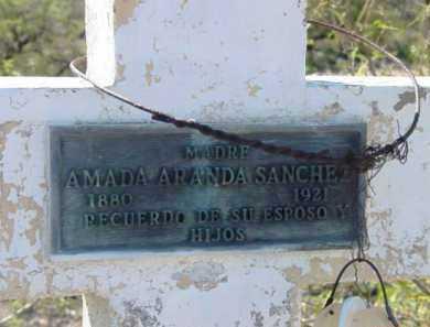 SANCHEZ, AMADA - Yavapai County, Arizona   AMADA SANCHEZ - Arizona Gravestone Photos