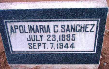 SANCHEZ, APOLINARIA C. - Yavapai County, Arizona | APOLINARIA C. SANCHEZ - Arizona Gravestone Photos