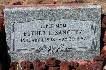 SANCHEZ, ESTHER L. - Yavapai County, Arizona | ESTHER L. SANCHEZ - Arizona Gravestone Photos
