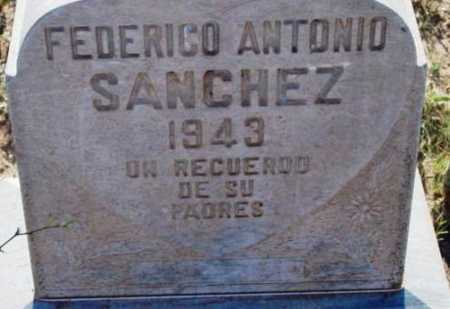 SANCHEZ, FEDERICO ANTONIO - Yavapai County, Arizona | FEDERICO ANTONIO SANCHEZ - Arizona Gravestone Photos