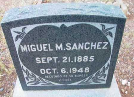 SANCHEZ, MIGUEL M. - Yavapai County, Arizona | MIGUEL M. SANCHEZ - Arizona Gravestone Photos