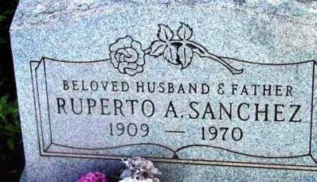 SANCHEZ, RUPERTO A. - Yavapai County, Arizona | RUPERTO A. SANCHEZ - Arizona Gravestone Photos