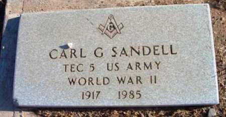 SANDELL, CARL GUNNAR - Yavapai County, Arizona | CARL GUNNAR SANDELL - Arizona Gravestone Photos
