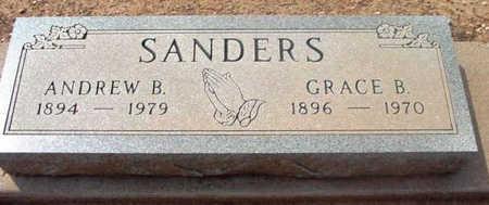 SANDERS, GRACE B. - Yavapai County, Arizona | GRACE B. SANDERS - Arizona Gravestone Photos