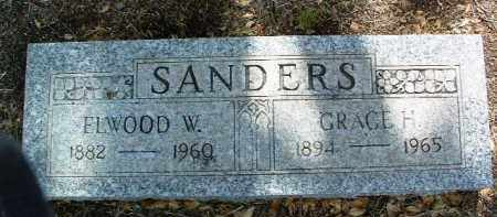 SANDERS, ELWOOD WILLIS - Yavapai County, Arizona | ELWOOD WILLIS SANDERS - Arizona Gravestone Photos