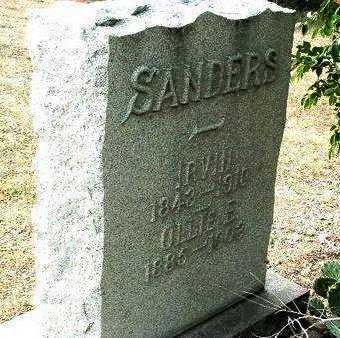 SANDERS, OLLIE E. - Yavapai County, Arizona | OLLIE E. SANDERS - Arizona Gravestone Photos