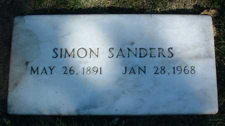 SANDERS, SIMON - Yavapai County, Arizona | SIMON SANDERS - Arizona Gravestone Photos